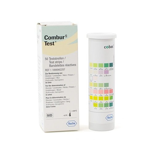Combur 6 Urine Test Strips Urine Test Strips And Other